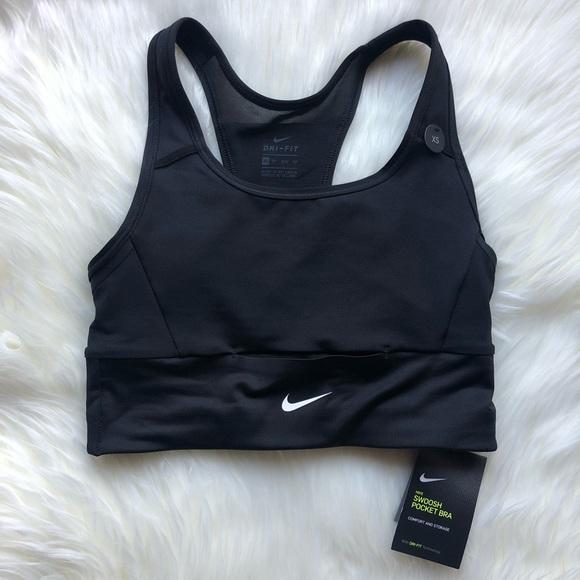 68d6e3cd7f Women s Nike Swoosh Pocket Bra